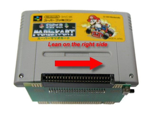T-Connector for Super Flash Cart - Click Image to Close